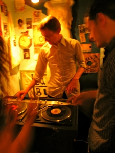 Come Buy Me Love vintage shop DJ